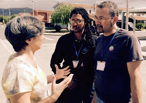 2015 VISIT Santos Italy refugees